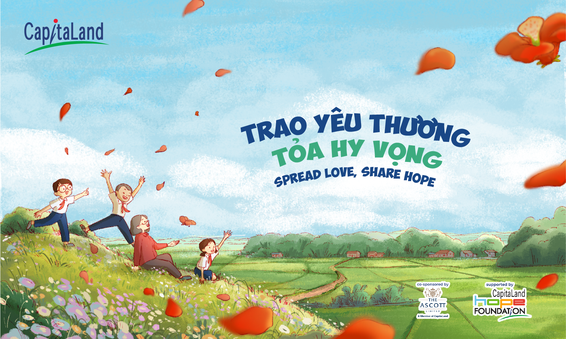 capitaland vietnam doubles pledge in spread love share hope campaign