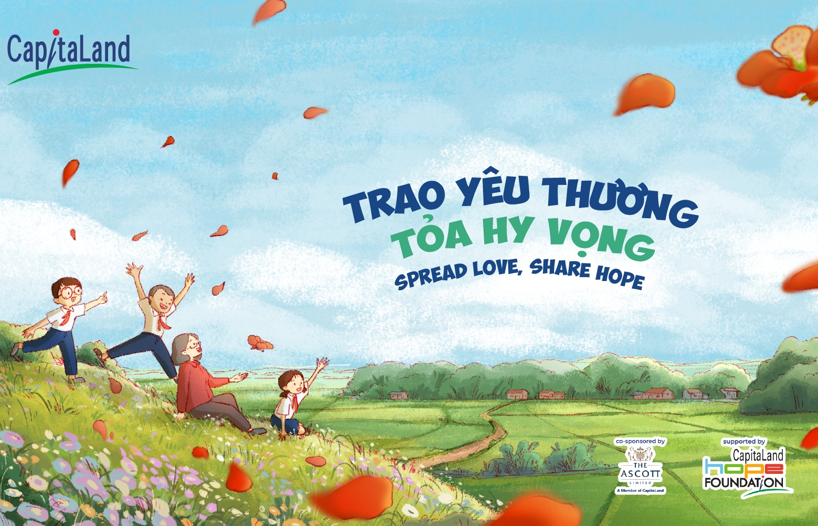 """CapitaLand Vietnam doubles pledge in """"Spread Love, Share Hope"""" campaign"""