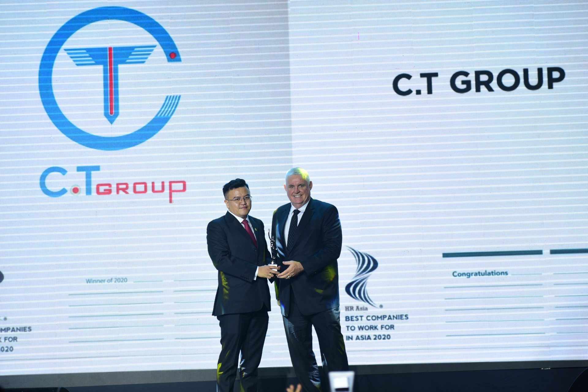 C.T Group receives Best Company to Work for in Asia award