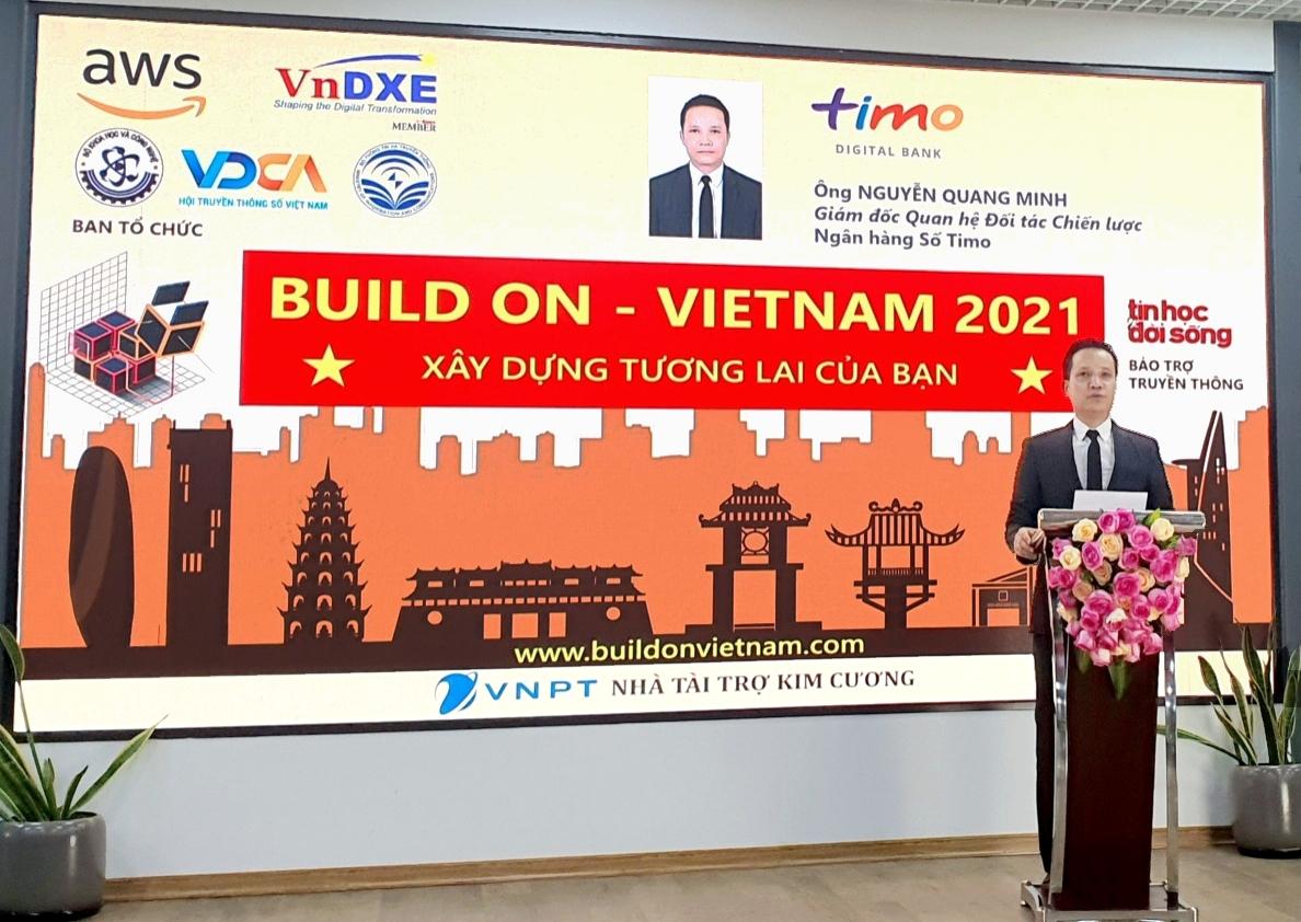 "Timo Digital Bank participates in ""Build On, Vietnam 2021"""