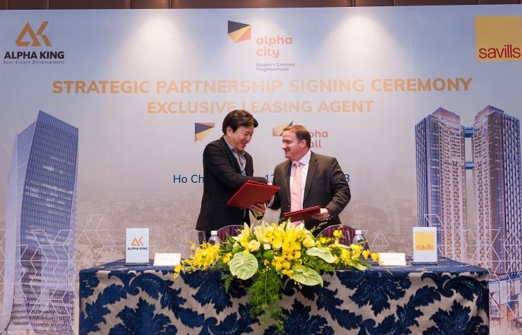 Alpha King and Savills Vietnam's first steps in strategic partnership