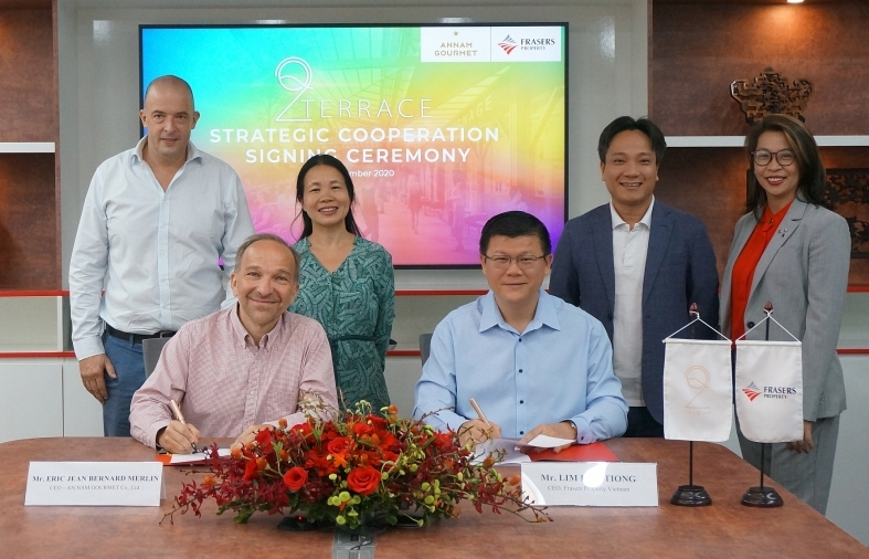 Q2 Thao Dien attracts collaboration from renowned F&B brands