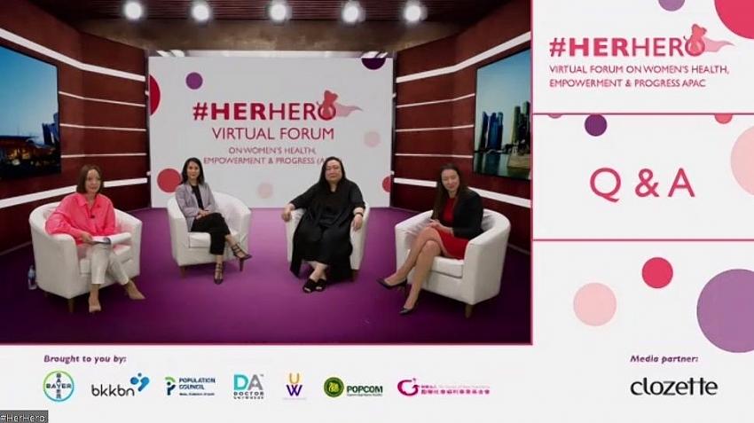 herhero campaign calls for women to prioritise family and health despite covid 19