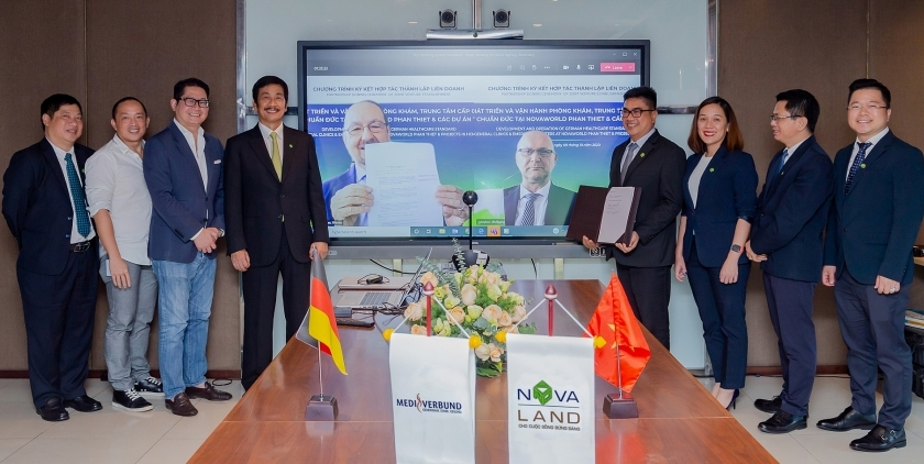 Novaland signs MoU for German-standard general clinic at NovaWorld Phan Thiet
