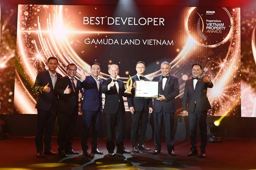 gamuda land vietnam wins best developer at vietnam property awards 2020
