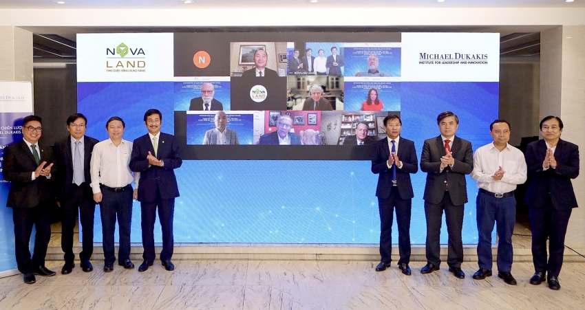 novaland cooperates with michael dukakis institute to add ai to novaworld phan thiet