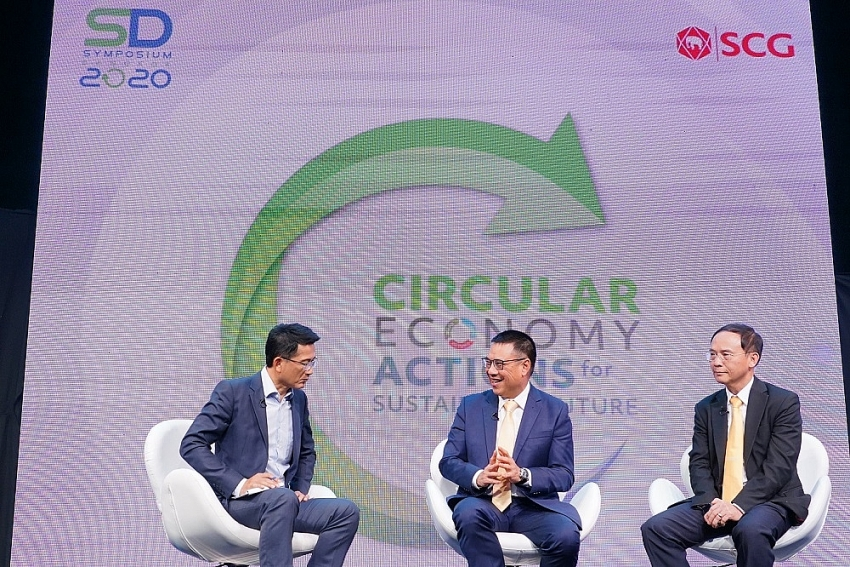 scg 11th sustainable development symposium proposes circular economy to fix global ails