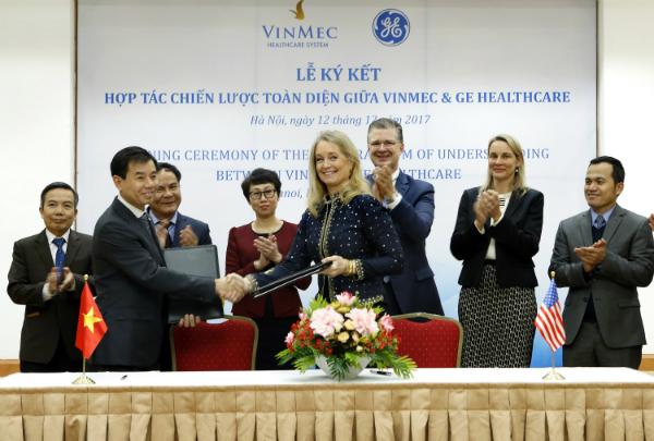 GE Healthcare becomes strategic partner of Vinmec