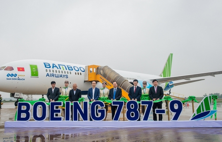 Bamboo Airways expands fleet with another Boeing 787-9 Dreamliner
