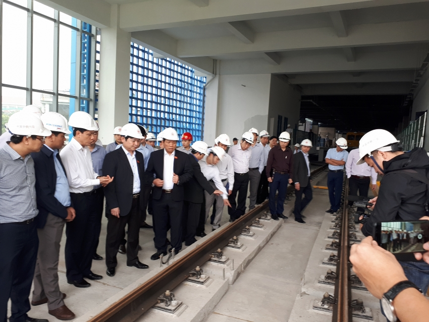 cat linh ha dong metro clears legal barriers