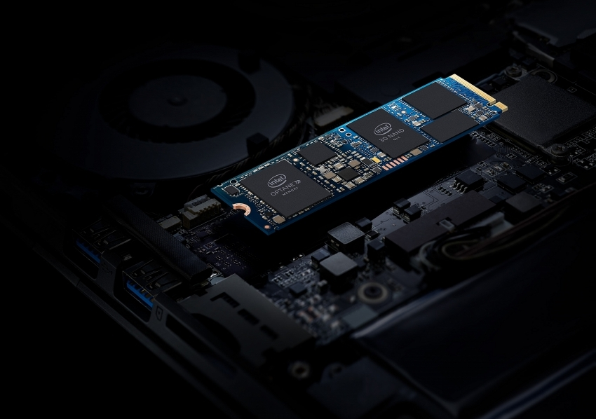 Intel officially unveils Intel Optane memory H10
