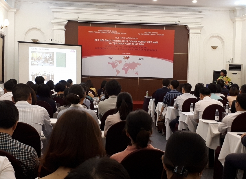 Vietnam seeks to increase access to AEON's supply chain