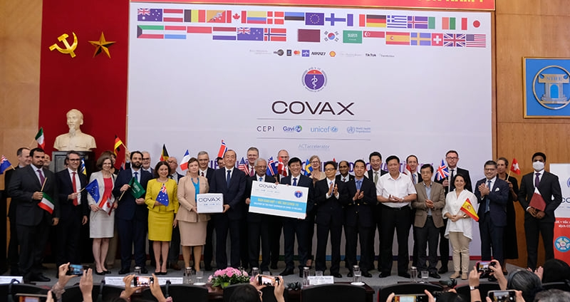 First shipment of over 800,000 COVID-19 vaccines from COVAX Facility arrives in Vietnam