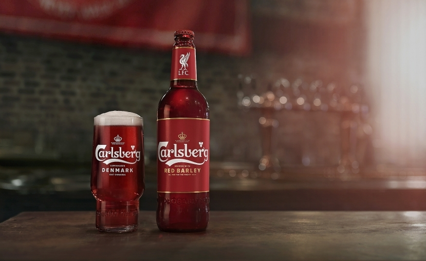 Carlsberg releases new red beer for Liverpool FC fans