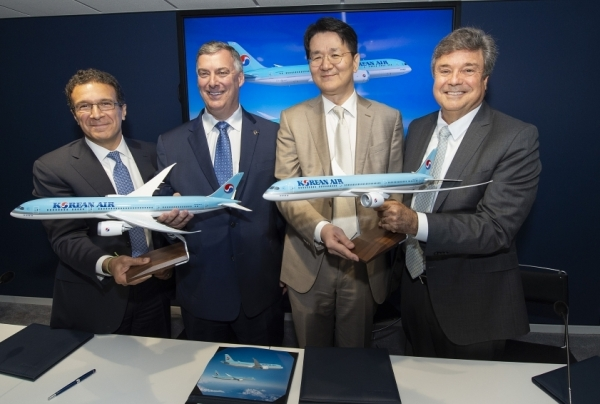 korean air to introduce boeing 787 10 for first time in korea