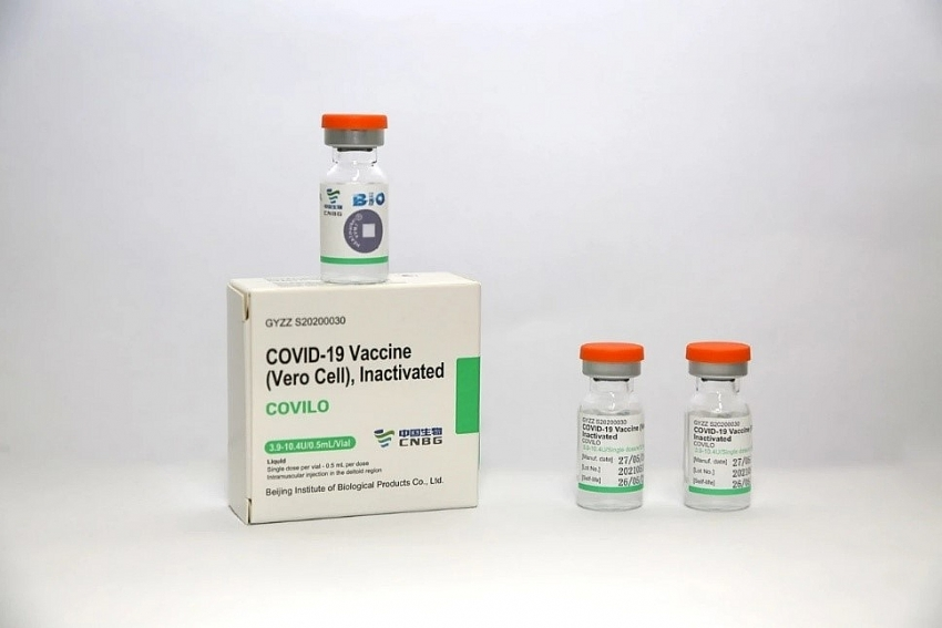 500,000 doses of Sinopharm COVID-19 vaccine arrive in Vietnam today
