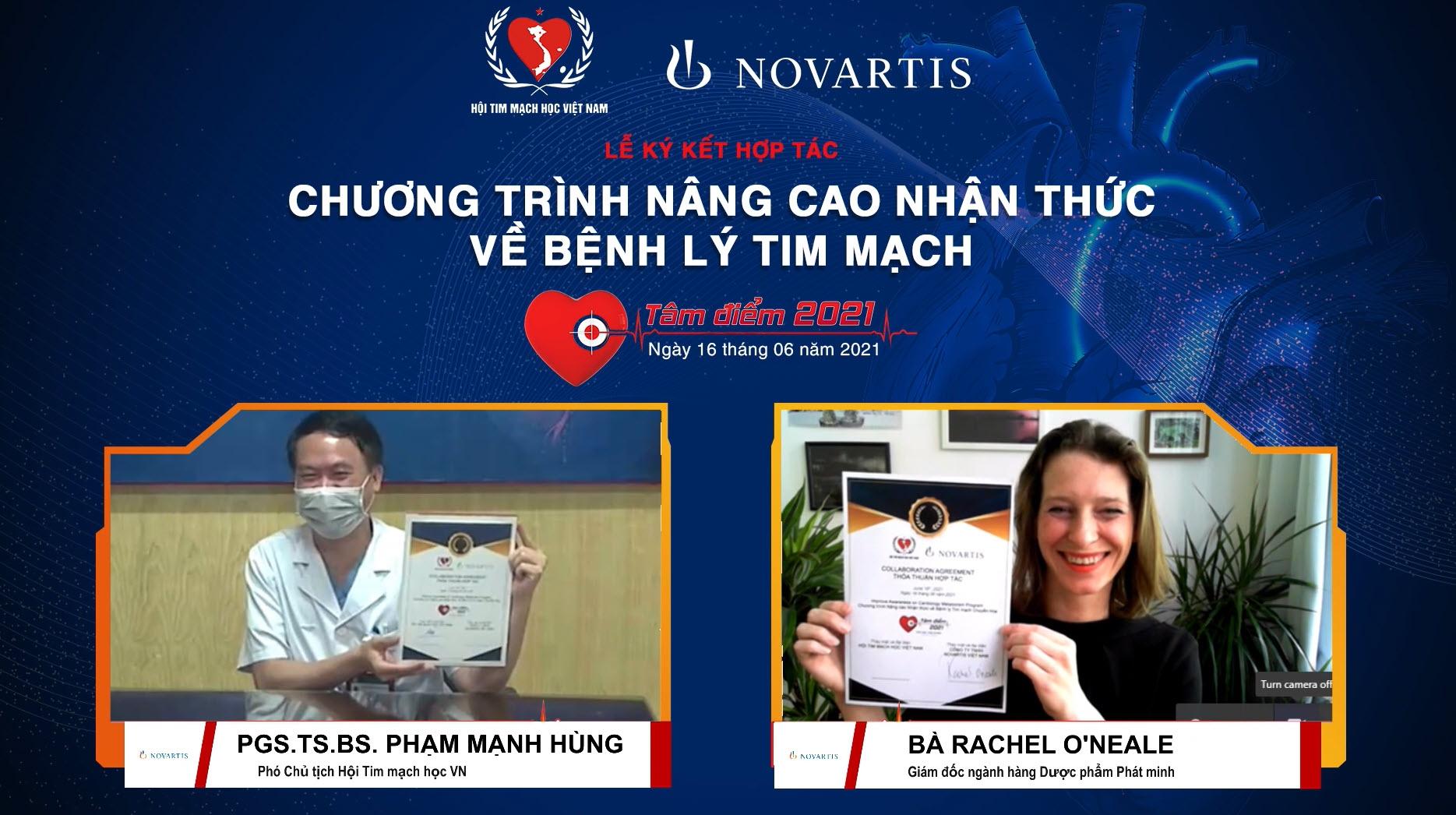 Vietnam Heart Association, Novartis Vietnam partner to promote cardiovascular education