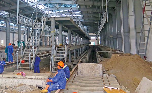 Cat Linh-Hadong urban railway deadlock persists