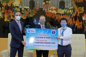 First 97,000 doses of Pfizer/BioNtech COVID-19 vaccine arrive in Vietnam