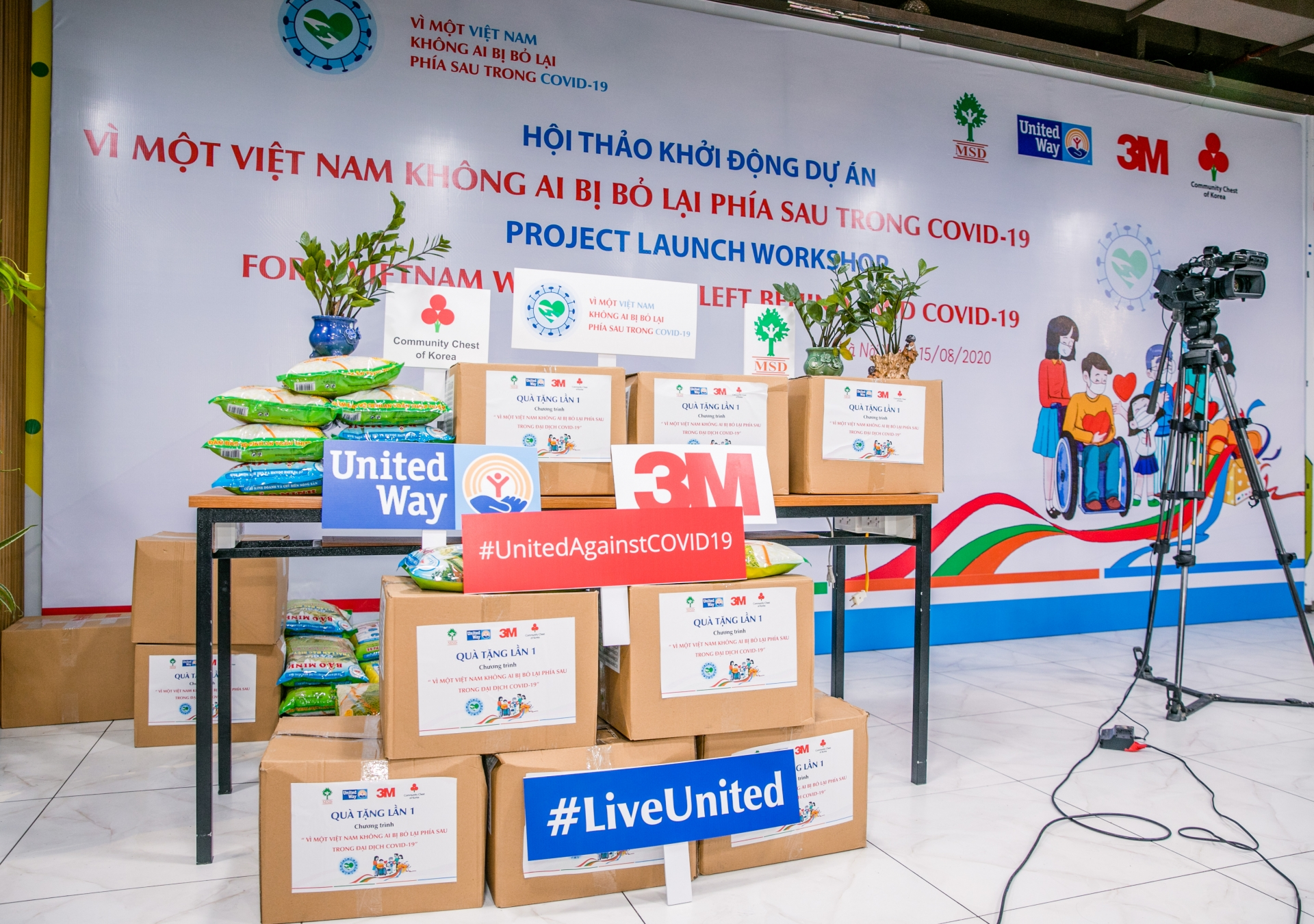 3M Vietnam and MSD team up to support communities hit by COVID-19