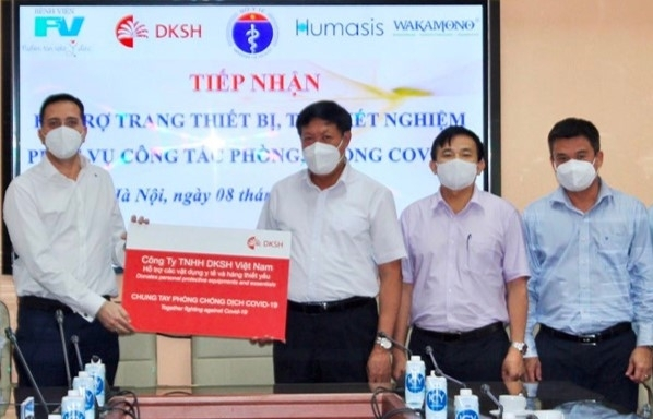 DKSH commits to support Vietnam in COVID-19 battle