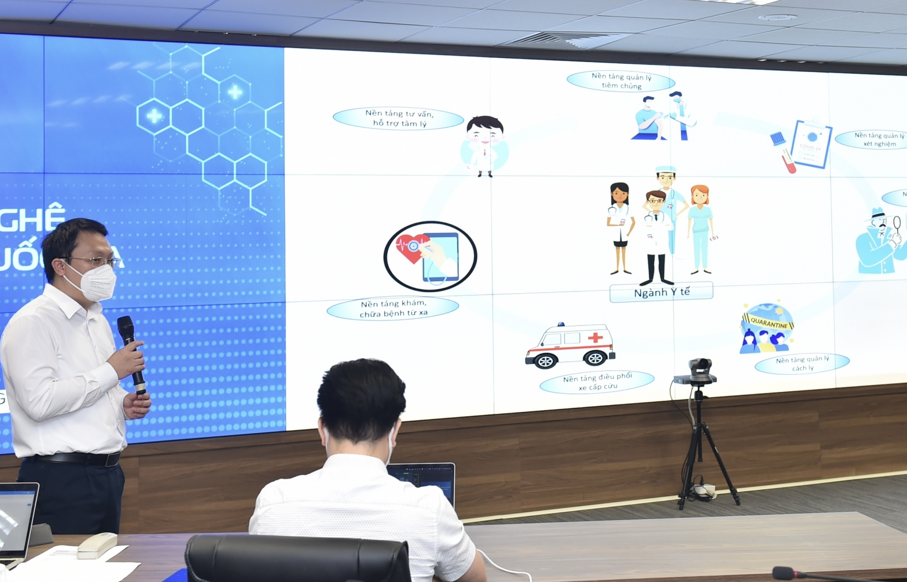 Vietnam launches Telehealth platform connecting all district health facilities