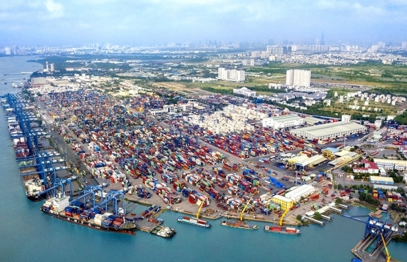 Idle containers at Tan Cang Cat Lai Port in South Vietnam reduce 15 per cent