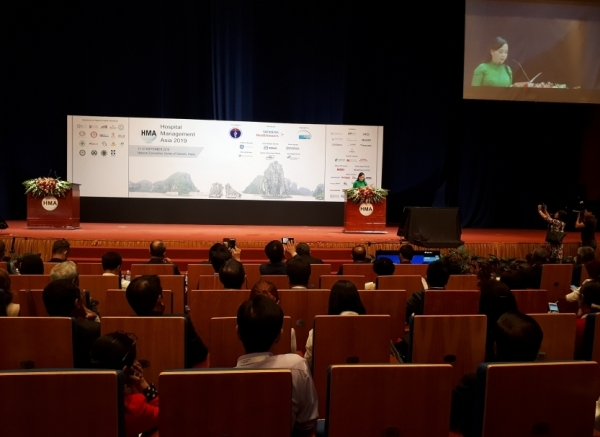 2500 people attend hospital management asia 2019 in vietnam