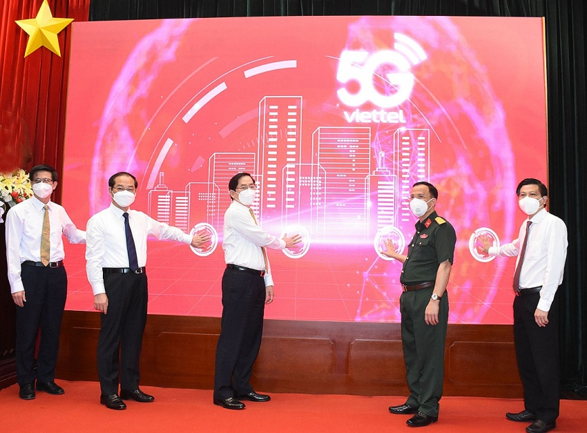 Vietnam's eighth locality covered with 5G network