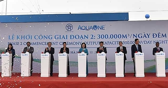 Largest water plant in Northern Vietnam opens to ease locals' thirst