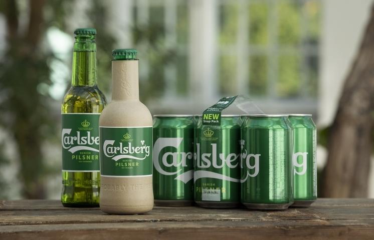 Carlsberg gives latest green fibre bottle update