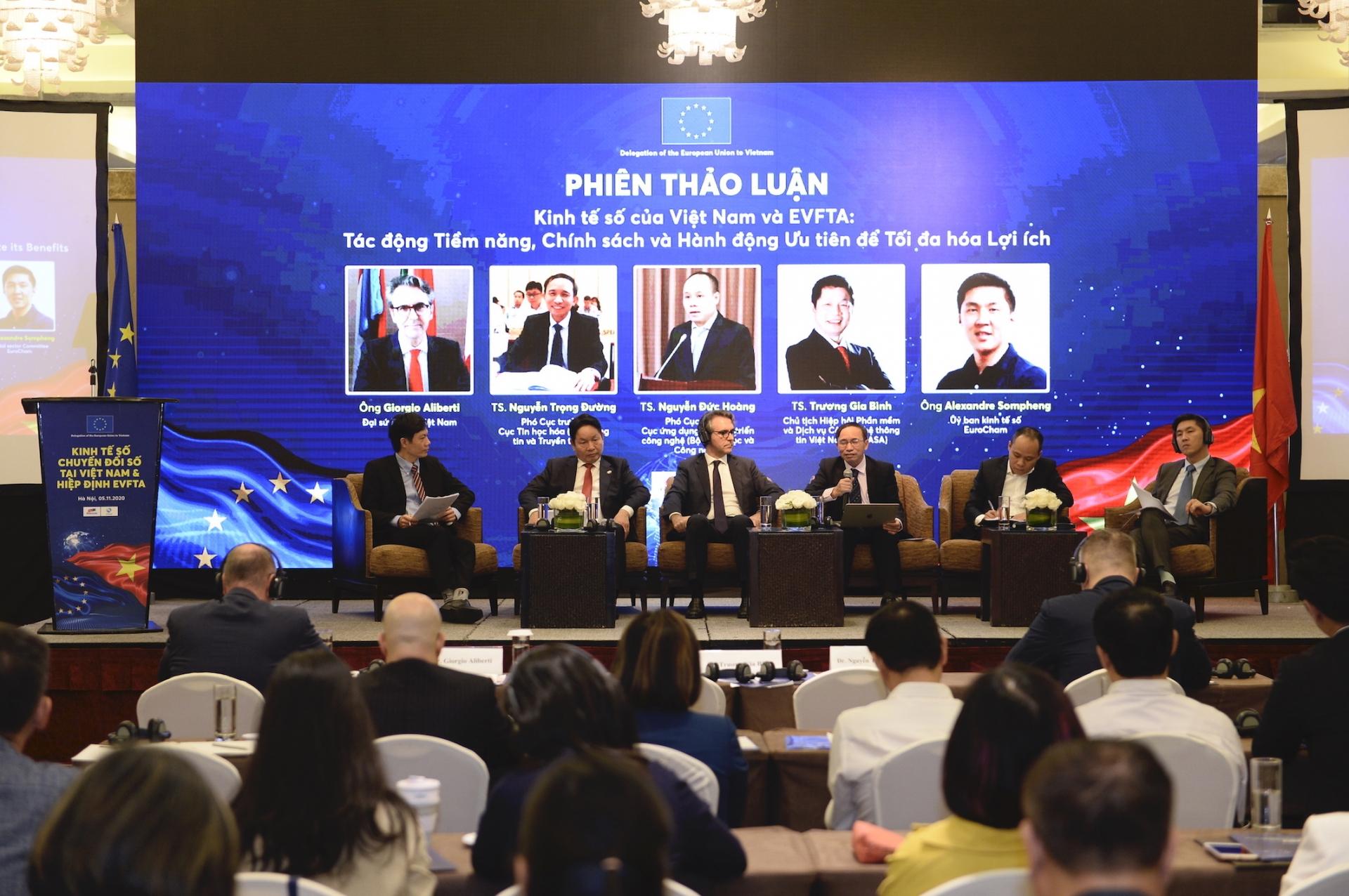 EVFTA to spur Vietnam's digital transformation