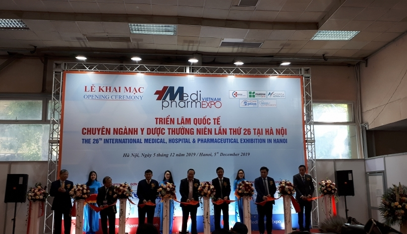 Vietnam Medi-Pharm Expo 2019 opens in Hanoi