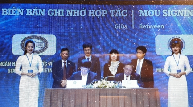 Ministry of Health, State Bank of Vietnam sign MoU on e-payment cooperation