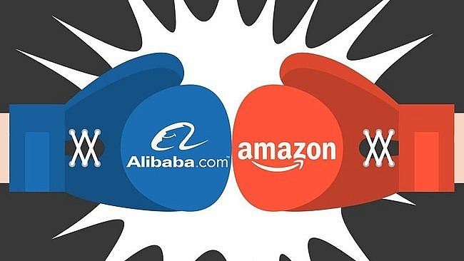amazon and alibaba to compete in vietnam e commerces ring