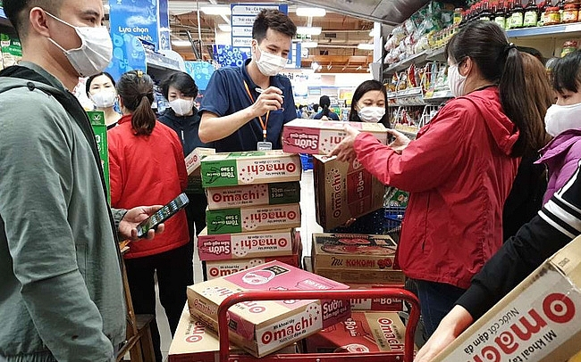moit confirms steady supply of consumer goods at supermarkets