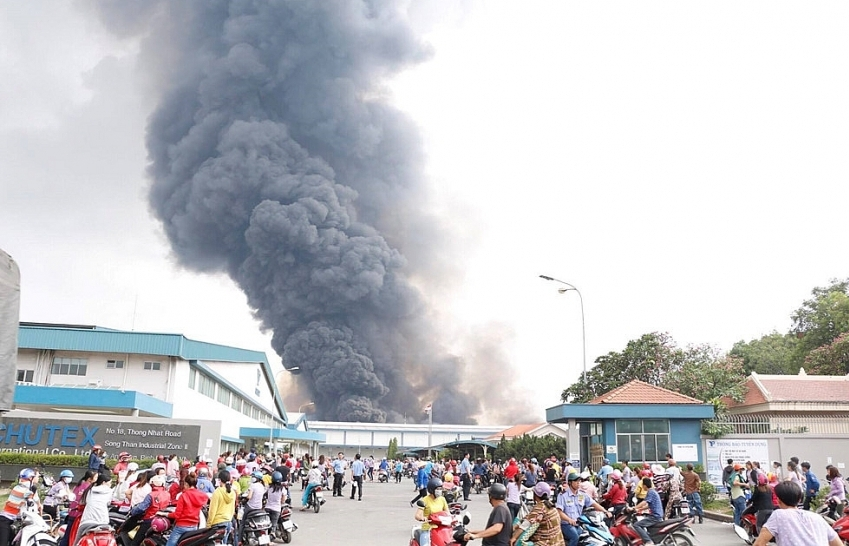 Conflagration in $18.4 million Song Than 2 Industrial Park