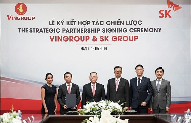 sk group invests 1 billion in vingroup becoming strategic partner