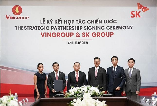 sk group invests 1 billion in vingroup becoming strategic partner