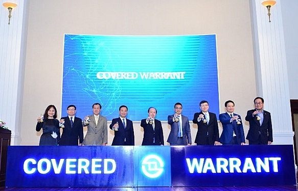 Covered warrants officially traded