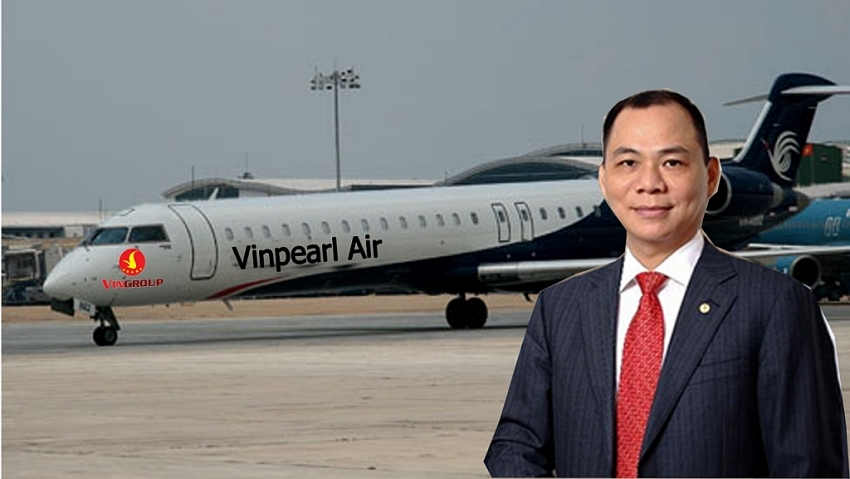 vingroup breaks into aviation with vinpearl air