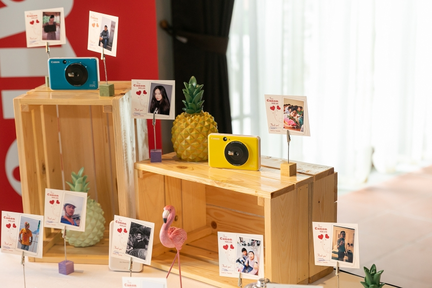 new canon instant camera can shoot and print while on the move