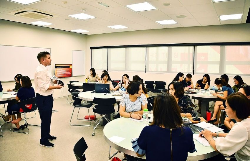 Training for rectors and teachers to catch global trends