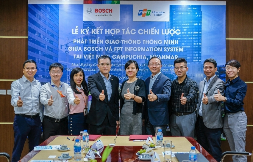 Bosch Vietnam enters into smart transport co-operation with FPT