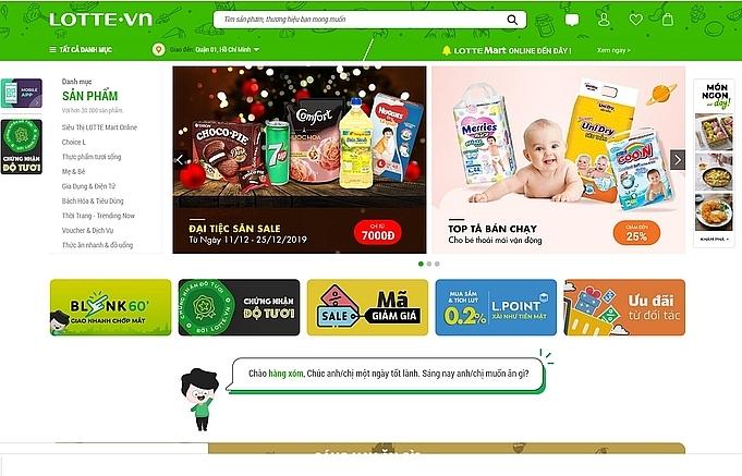 Lotte.vn quits e-commerce race in Vietnam