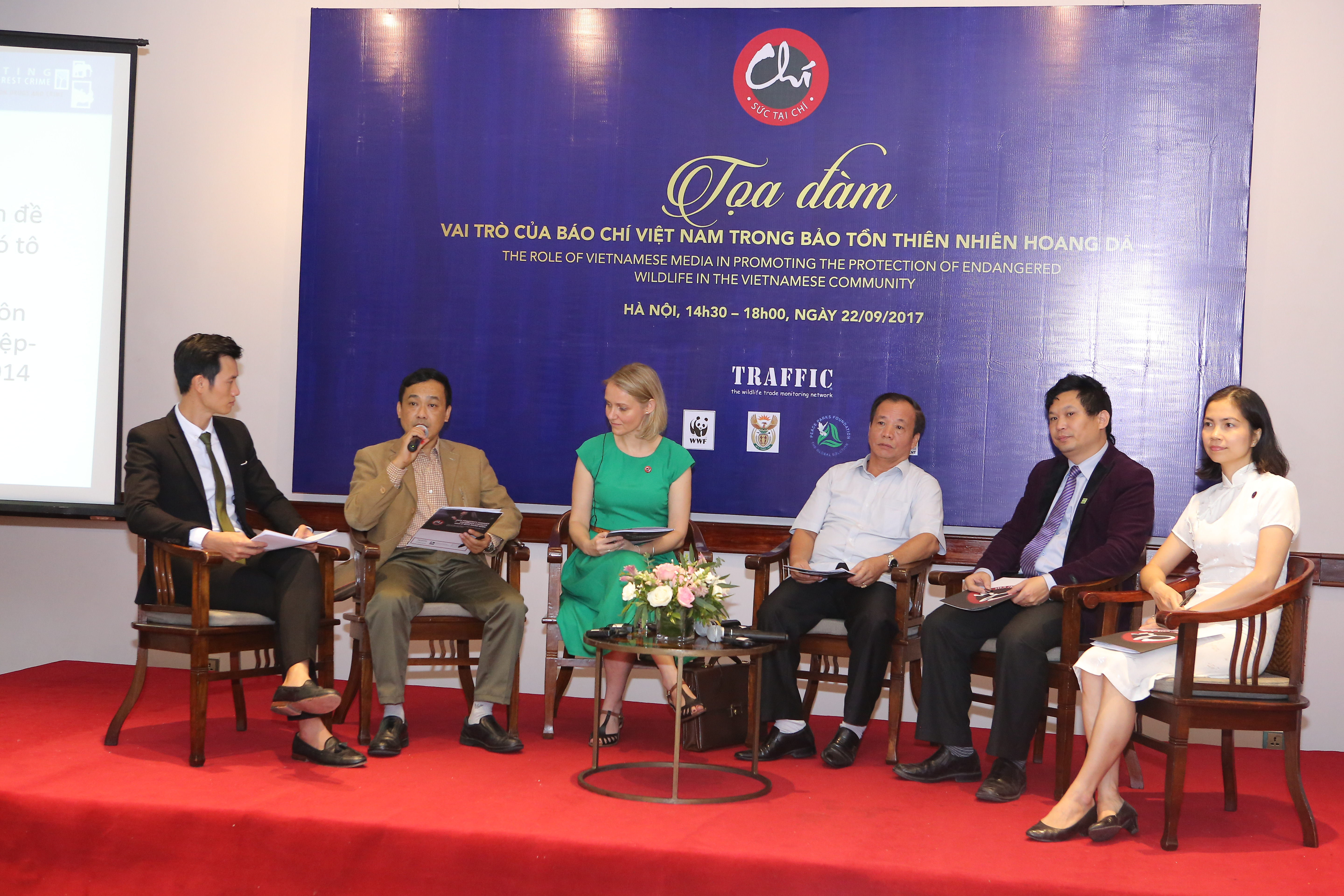 """Vietnamese media to become """"agents of change"""" in efforts to deter wildlife crime"""