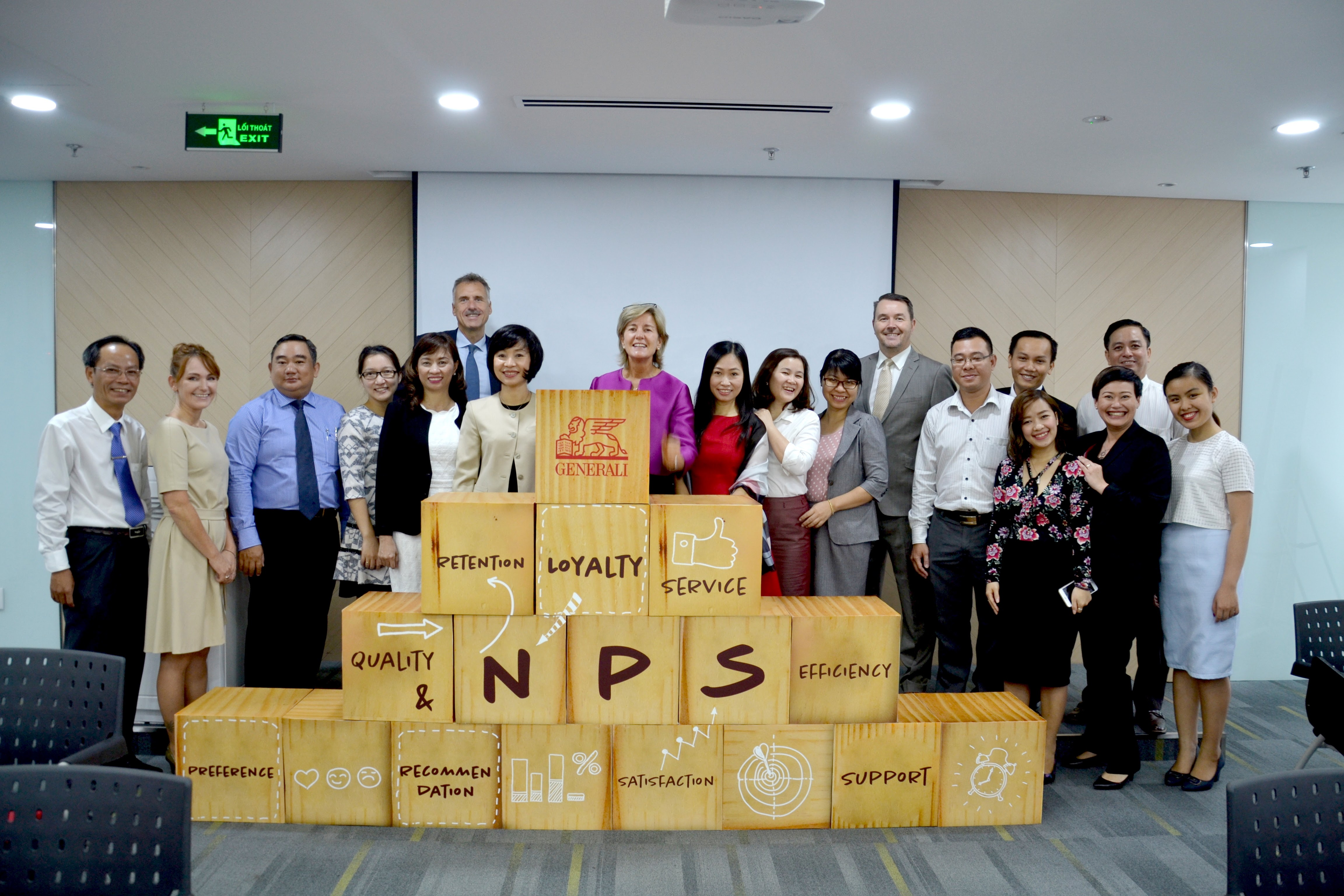 Generali Vietnam Life Insurance officially launches the first Net Promoter System in Vietnam