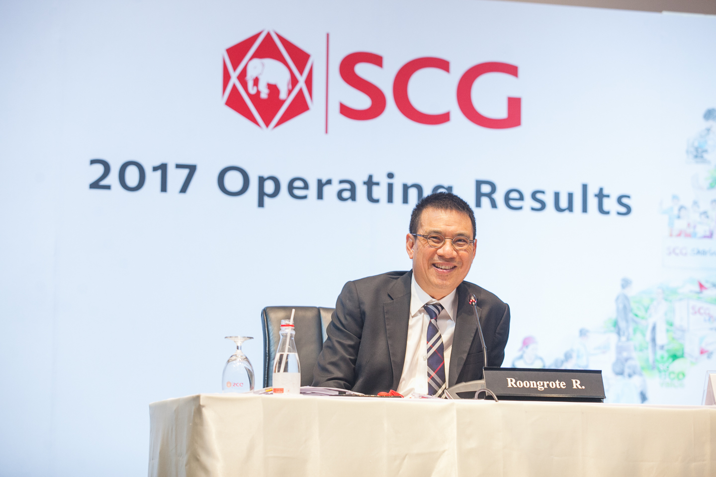 SCG unveils satisfactory operating results in 2017