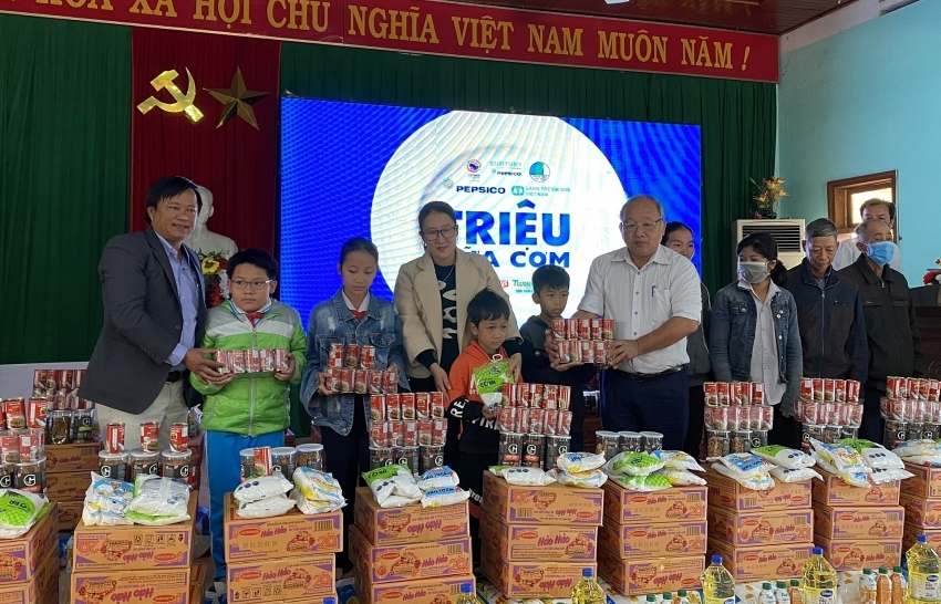 """""""Millions of meals"""" supports flood-hit children in central region"""