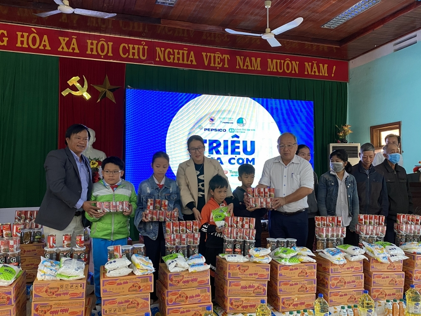millions of meals supports flood hit children in central region